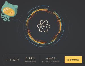 Atomダウンロード画像